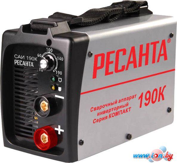 Сварочный инвертор Ресанта САИ-190К в Могилёве