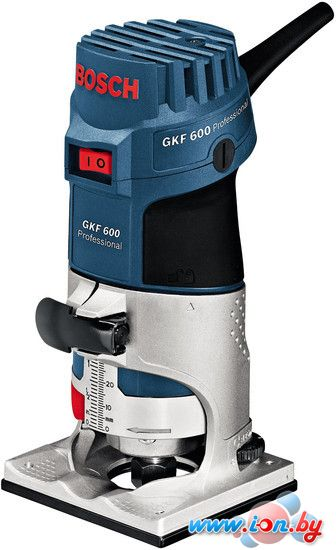 Кромочно-петельный фрезер Bosch GKF 600 Professional (060160A100) в Могилёве