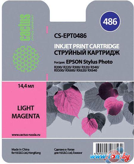 Картридж для принтера CACTUS CS-EPT0486 в Могилёве