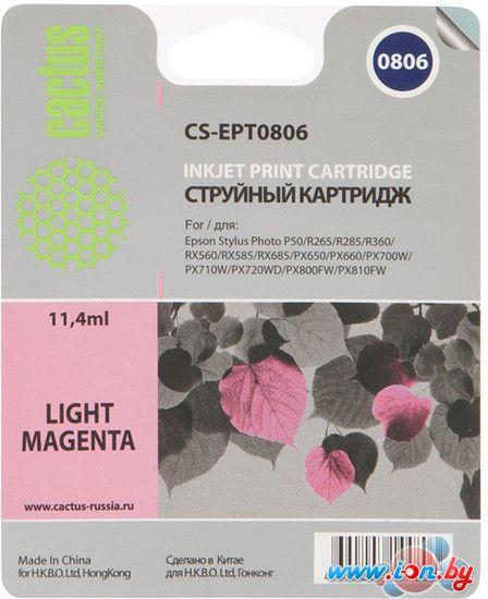Картридж для принтера CACTUS CS-EPT0806 в Могилёве