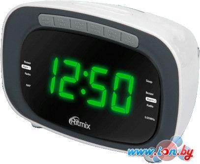 Радиочасы Ritmix RRC-1250 (белый) в Могилёве