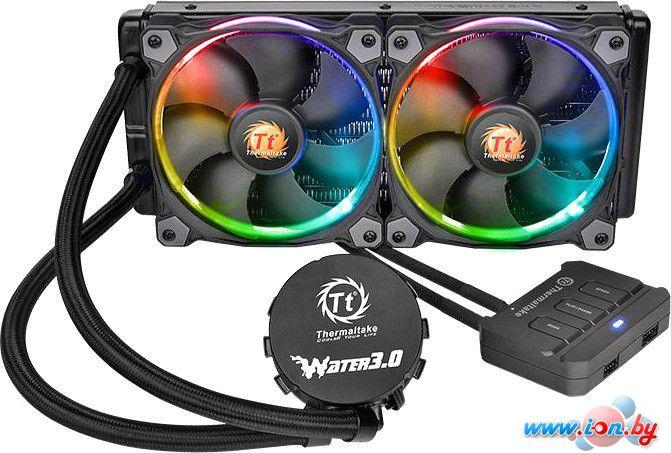 Кулер для процессора Thermaltake Water 3.0 Riing RGB 240 [CL-W107-PL12SW-A] в Могилёве
