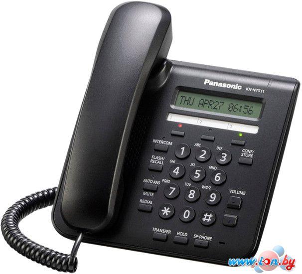 Проводной телефон Panasonic KX-NT511PRUB (черный) в Могилёве