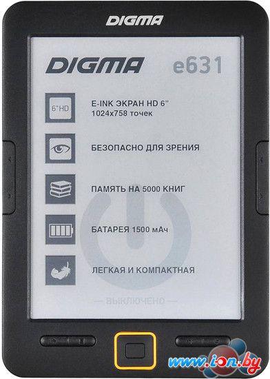Электронная книга Digma E631B (черный) в Могилёве