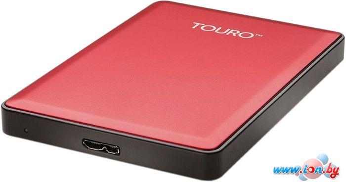 Внешний жесткий диск Hitachi Touro S 500GB Red (HTOSEC5001BCB) в Могилёве