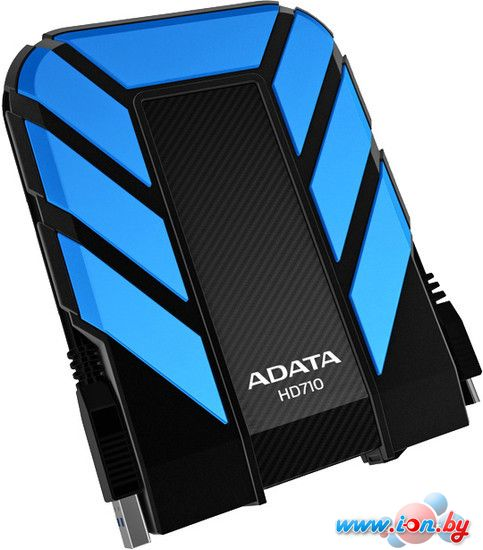 Внешний жесткий диск A-Data DashDrive Durable HD710 2TB Blue (AHD710-2TU3-CBL) в Могилёве