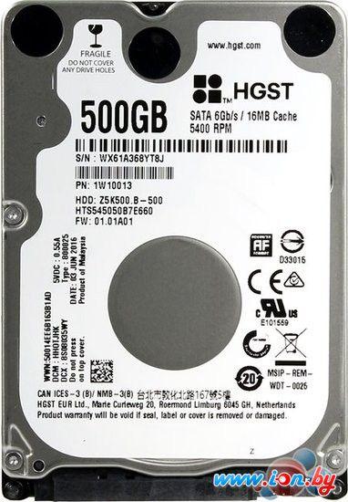 Жесткий диск HGST Travelstar Z5K500.B [HTS545050B7E660] в Могилёве