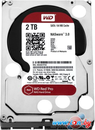 Жесткий диск WD Red Pro 2TB [WD2002FFSX] в Могилёве