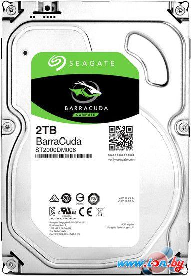 Жесткий диск Seagate BarraCuda 2TB [ST2000DM006] в Могилёве