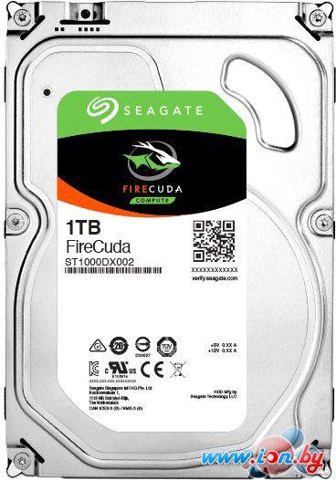 Гибридный жесткий диск Seagate Firecuda 1TB [ST1000DX002] в Могилёве