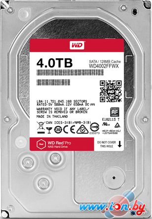 Жесткий диск WD Red Pro 4TB [WD4002FFWX] в Могилёве