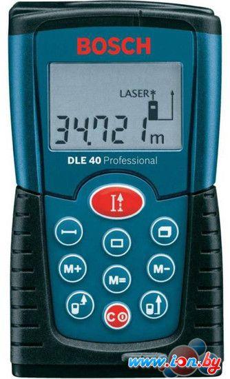 Лазерный дальномер Bosch DLE 40 Professional (0601016300) в Могилёве