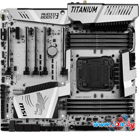 Материнская плата MSI X99A XPower Gaming Titanium в Могилёве