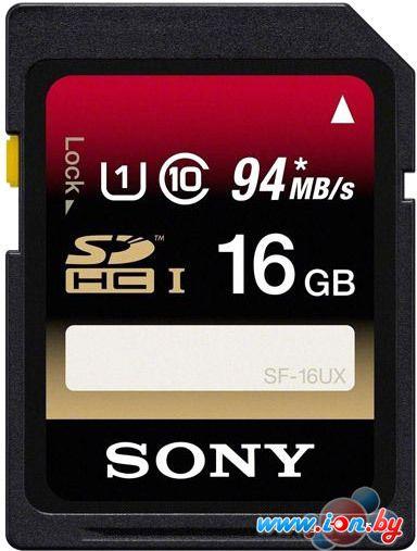 Карта памяти Sony Expert SDHC UHS-I (Class 10) 16GB (SF16UXT) в Могилёве