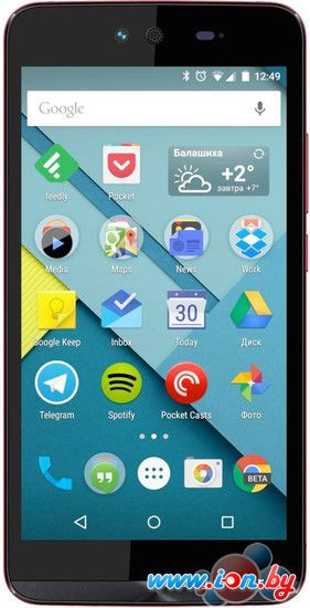 Смартфон Micromax Canvas Magnus 2 Red [Q338] в Могилёве