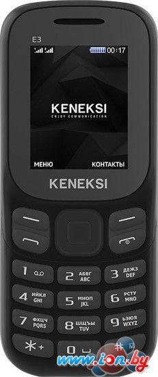 Мобильный телефон Keneksi E3 Black в Могилёве