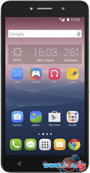 Смартфон Alcatel One Touch Pixi 4(6) Black [8050D] в Могилёве