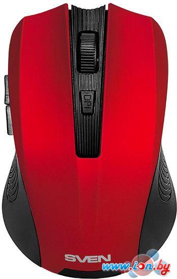 Мышь SVEN RX-345 Wireless (красный) в Могилёве