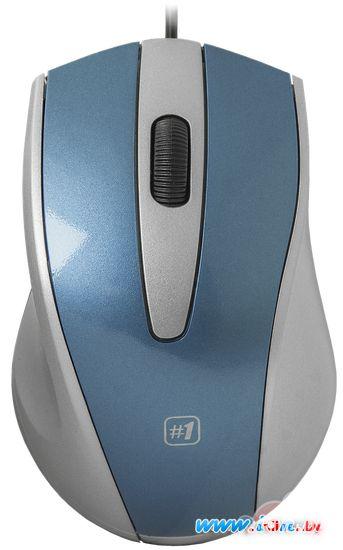 Мышь Defender #1 MM-920 (синий/серый) в Могилёве
