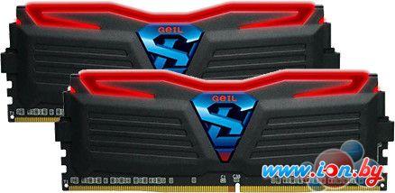 Оперативная память GeIL Super Luce Red Light 2x4GB DDR4 PC4-25600 [GLR48GB3200C16DC] в Могилёве