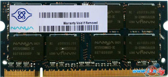 Оперативная память Nanya 512MB DDR2 PC2-6400 [NT512T64UH4D0FN-AD] в Могилёве
