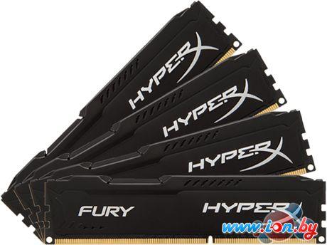 Оперативная память Kingston HyperX Fury 4x8GB DDR4 PC4-19200 [HX424C15FB2K4/32] в Могилёве