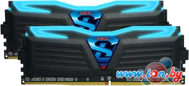 Оперативная память GeIL Super Luce Blue Light 2x4GB DDR4 PC4-21300 [GLB48GB2666C15DC] в Могилёве