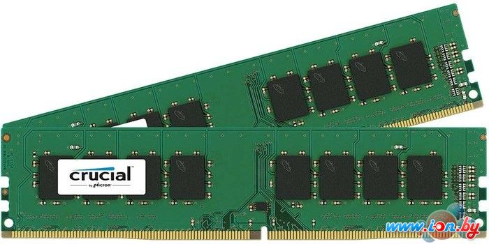 Оперативная память Crucial 2x8GB DDR4 PC4-17000 [CT2K8G4DFS8213] в Могилёве