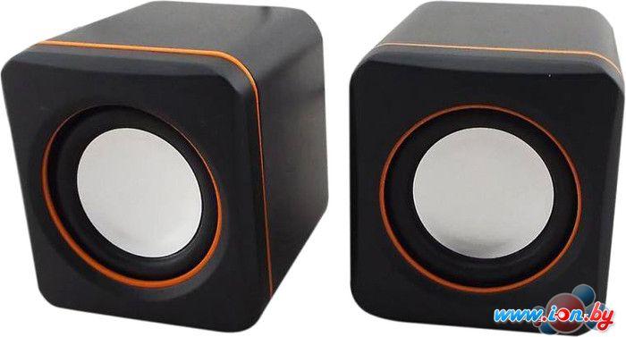 Пара колонок Oklick OK-301 (черный/оранжевый) [346246] в Могилёве