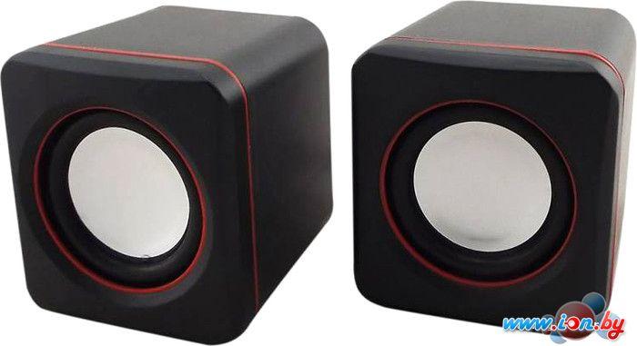 Пара колонок Oklick OK-301 (черный/красный) [346247] в Могилёве