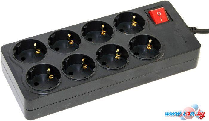 Сетевой фильтр 5bites 8 розеток, 5 м, черный (SP8-B-50) в Могилёве