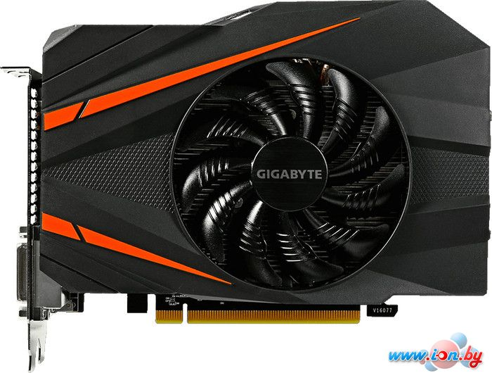 Видеокарта Gigabyte GeForce GTX 1060 Mini ITX OC 6GB GDDR5 [GV-N1060IXOC-6GD] в Могилёве