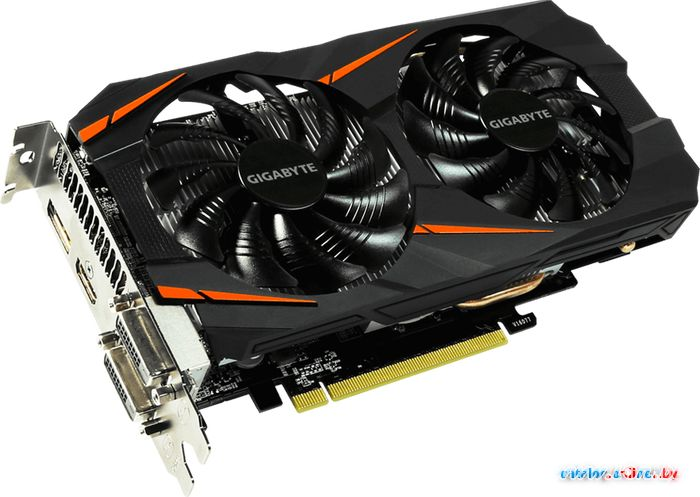 Видеокарта Gigabyte GeForce GTX 1060 Windforce 3GB GDDR5 [GV-N1060WF2OC-3GD] в Могилёве