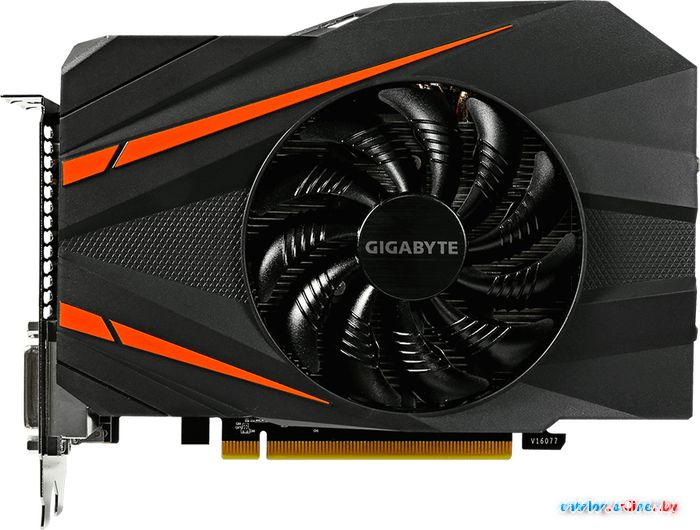 Видеокарта Gigabyte GeForce GTX 1060 Mini ITX OC 3GB GDDR5 [GV-N1060IXOC-3GD] в Могилёве