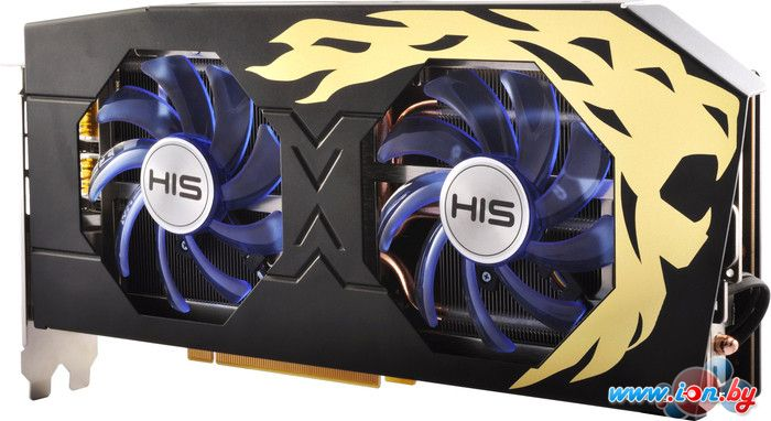 Видеокарта HIS Radeon RX 480 IceQ X2 Roaring OC 8GB GDDR5 [HS-480R8DCBR] в Могилёве