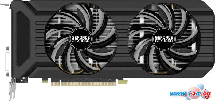 Видеокарта Palit GeForce GTX 1060 Dual [NE51060015J9-1060D] в Могилёве