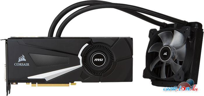 Видеокарта MSI GeForce GTX 1070 Sea Hawk X 8GB GDDR5 [GTX 1070 SEA HAWK X] в Могилёве