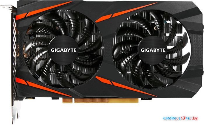 Видеокарта Gigabyte Radeon RX460 Windforce OC 2GB GDDR5 [GV-RX460WF2OC-2GD] в Могилёве