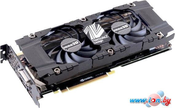 Видеокарта Inno3D GeForce GTX 1080 Twin X2 8GB GDDR5X [N1080-1SDN-P6DN] в Могилёве