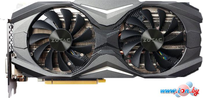 Видеокарта ZOTAC GeForce GTX 1070 AMP Edition 8GB GDDR5 [ZT-P10700C-10P] в Могилёве