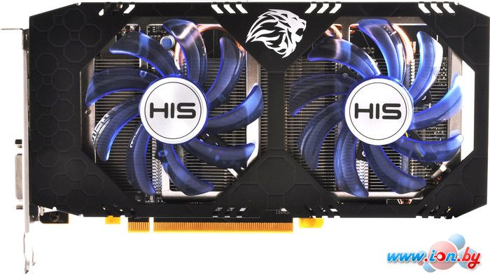 Видеокарта HIS Radeon RX 470 IceQ X2 OC 4GB GDDR5 [HS-470R4LCNR] в Могилёве