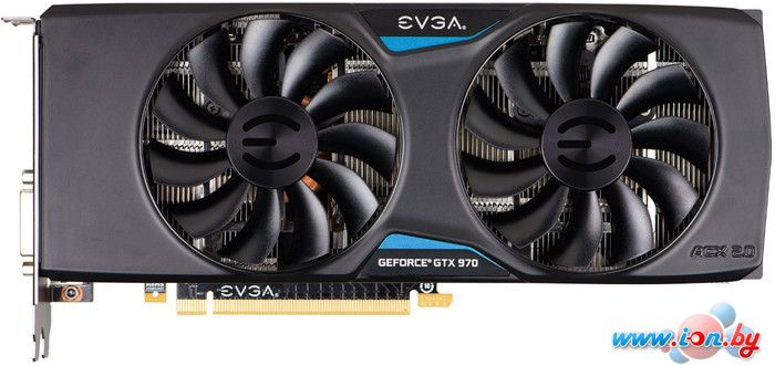 Видеокарта EVGA GeForce GTX 970 SSC 4GB GDDR5 (04G-P4-3975-KR) в Могилёве