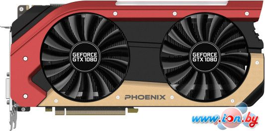 Видеокарта Gainward GeForce GTX 1080 Phoenix 8GB GDDR5X [426018336-3651] в Могилёве