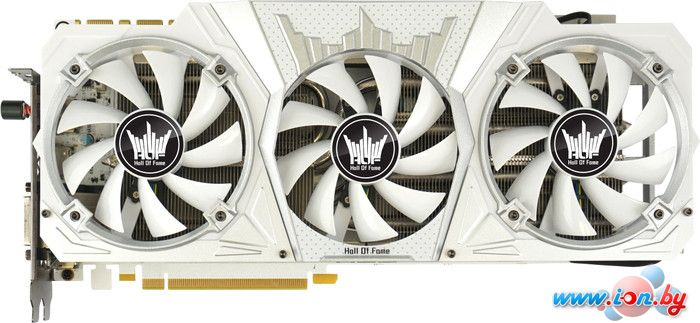 Видеокарта KFA2 GeForce GTX 1080 HOF 8GB GDDR5 [80NSJ6DHL2SK] в Могилёве
