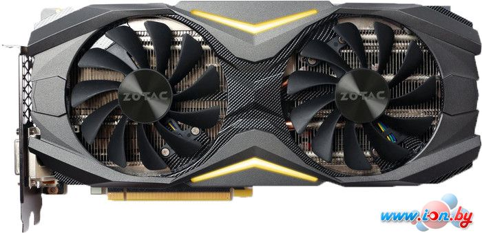Видеокарта ZOTAC GeForce GTX 1080 AMP Edition 8GB GDDR5X [ZT-P10800C-10P] в Могилёве