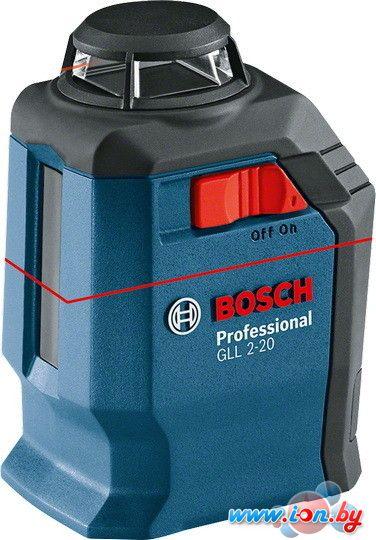 Лазерный нивелир Bosch GLL 2-20 Professional [0601063J00] в Бресте