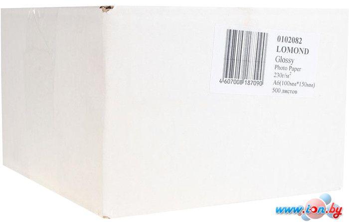 Фотобумага Lomond Глянцевая 10x15 230 г/кв.м. 500 листов (0102082) в Могилёве