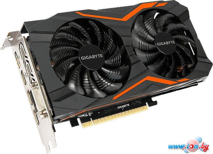 Видеокарта Gigabyte GeForce GTX 1050 G1 Gaming 2GB GDDR5 [GV-N1050G1 GAMING-2GD] в Бресте