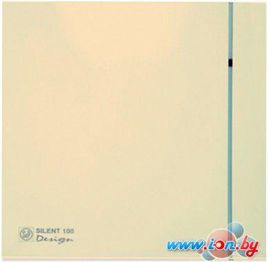 Вытяжной вентилятор Soler&Palau Silent-100 CZ Ivory Design - 4C [5210622600] в Минске