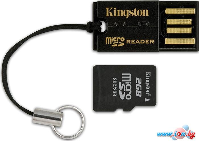 Кардридер Kingston USB microSD/microSDHC Reader (FCR-MRG2) в Могилёве